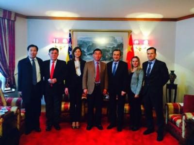 Smajlović i predstavnici KTG kod Kineskog ambasadora
