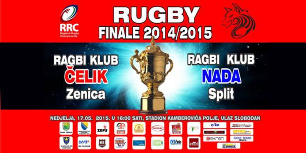 U nedjelju finale Regionalne ragbi lige