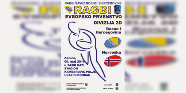 U subotu ragbi susret BiH-Norveška