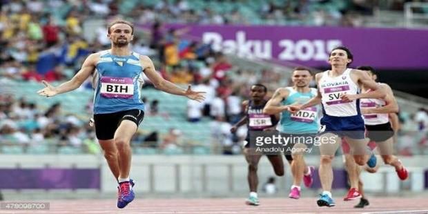 Amel Tuka pobijedio u Bakuu