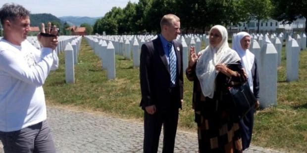 Zamjenik predsjedavajuće ZDK posjetio Srebrenicu