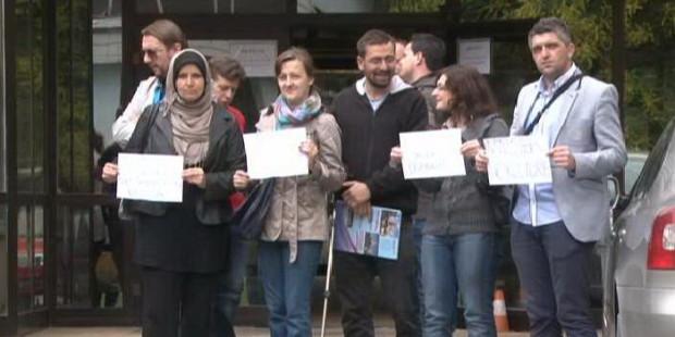 Protest nastavnika iz Matuzića