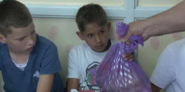 Paketići za djecu na liječenju u Bolnici