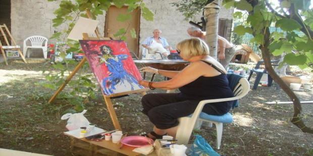 Priređena slikarska kolonija