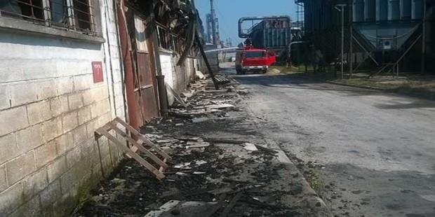 Požar u fabrici Krivaja Zavidovići