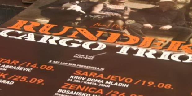 Sutra koncert skupine Rundek cargo trio