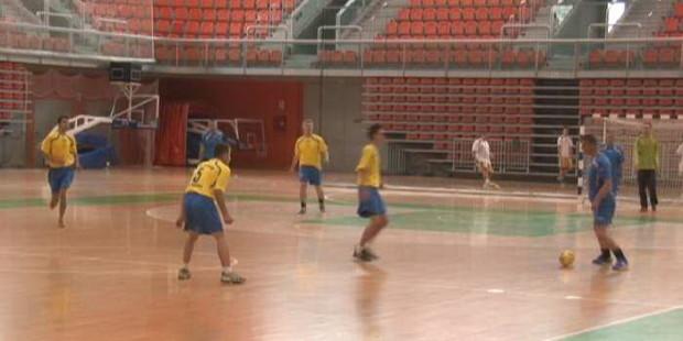 Vatrogasci na turniru u malom nogometu