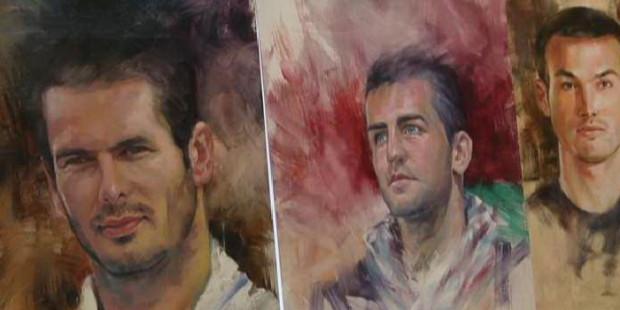 Izložba portreta bh nogometaša