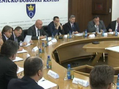 Premijer i ministri sa načelnicima