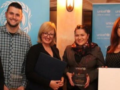 Priznanje UNICEF-a Almi Huskić