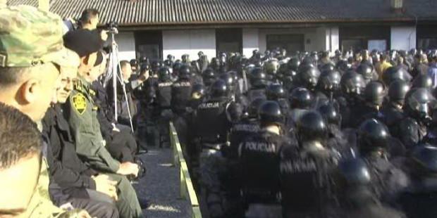 U Nemili pokazna vježba policije