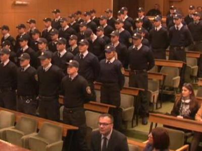 Novi policajci položili zakletvu