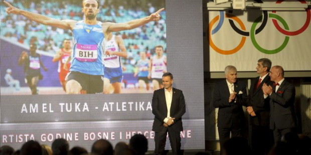 Amel Tuka najbolji sportista