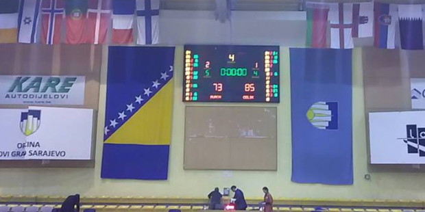Košarkaši Čelika slavili u Sarajevu