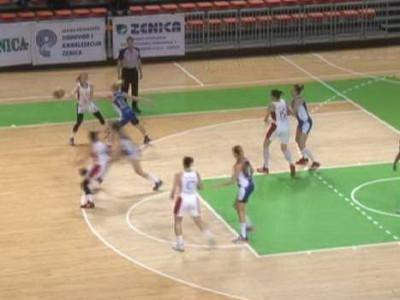 Košarkašice Čelika protiv Budućnosti