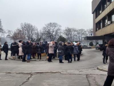 Protest trgovaca sa Tržnice