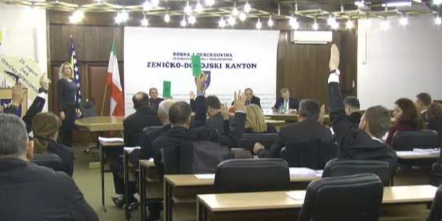 Nije usvojen dnevni red Skupštine ZDK