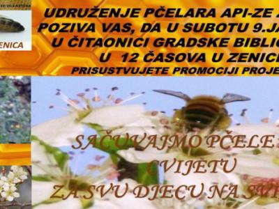 """Promocija projekta """"Zaštitimo pčele"""""""