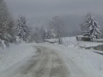 Otežan saobraćaj na lokalnim putevima