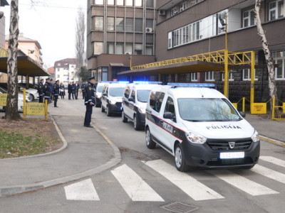 Podjela novih policijskih vozila
