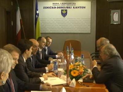 Ambasador Ivan Del Vechia posjetio ZDK