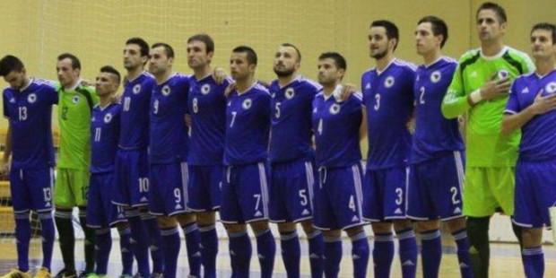 Futsal selekcija BiH u Areni sa Makedonijom