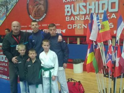 Uspješan nastup takmičara Ha Se karate kluba