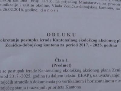 Procedura za ekološki akcioni plan ZDK