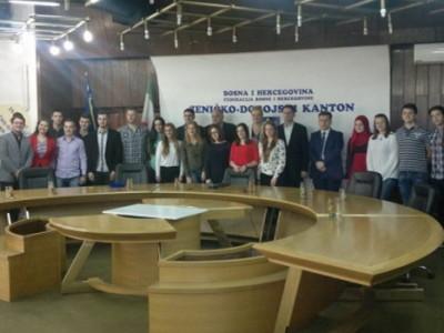 Skupštinu ZDK posjetila Mreža vijeća učenika