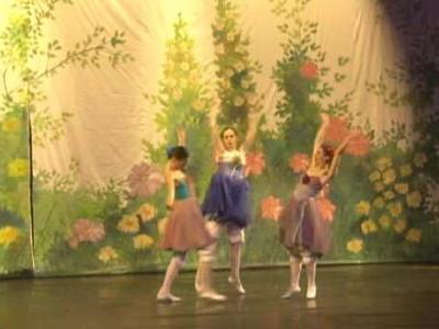 """Izvedena baletna predstava """"Palčica"""""""