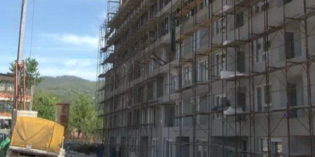 Pri kraju prva faza gradnje kompleksa Makovi