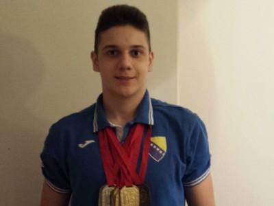 Amar Borić osvojio 7 medalja