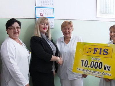 Donacija Snježane Gudelj za zeničku bolnicu