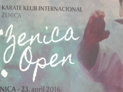 Sutra karate turnir Zenica open 2016