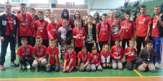 Uspješan nastup Taekwondo kluba Zenica