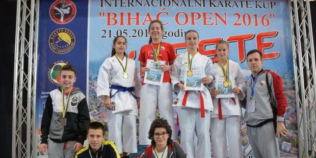 Uspješni nastupi Karate kluba Internacional