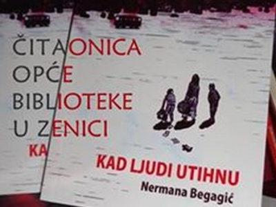 """Promovisana knjiga """"Kad ljudi utihnu"""""""