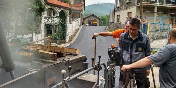 Rekonstruisan put u naselju Selište