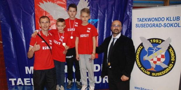 Medalje za takmičare Tekvando kluba Zenica