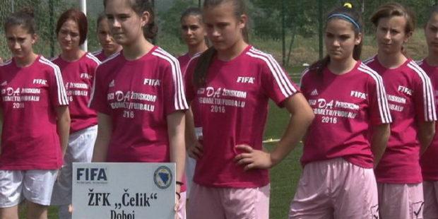 Reci DA ženskom nogometu