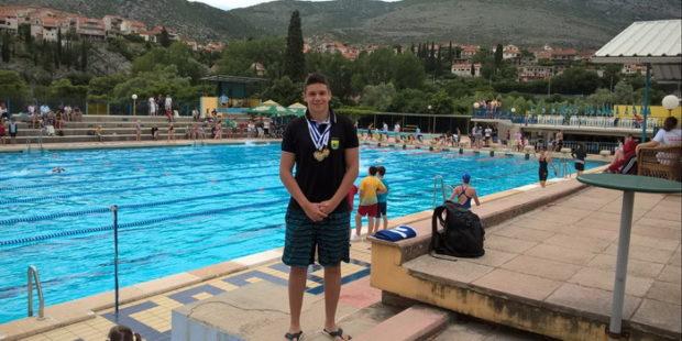 Borić uspješan na plivačkom mitingu u Trebinju