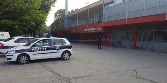 MUP o upotrebi vatrenog oružja ispred stadiona
