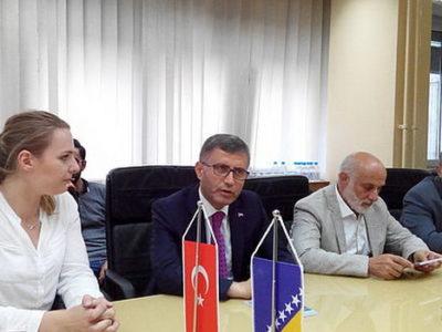 Posjeta delegacije općine Uskudar