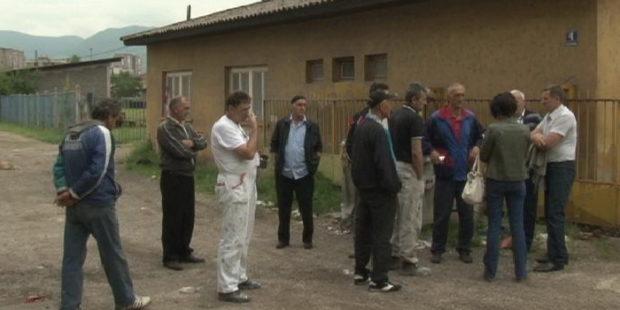 Protest bivših radnika Zeninga