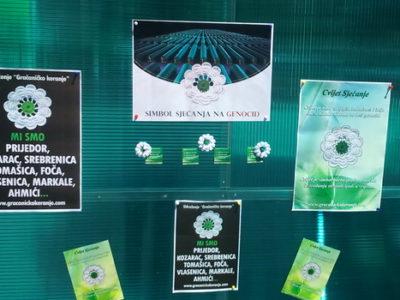 U Zenici Cvijet-Sjećanje na Srebrenicu