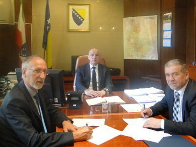 Ugovor za Zaštitni zid u MZ Vranduk