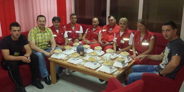 Iftar u Službi hitne pomoći