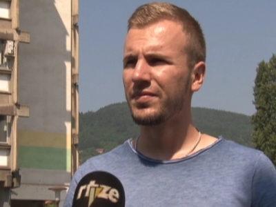 Kenan Hrustanović u maratonu do Srebrenice