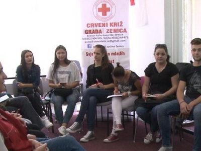 Rad mladih Crvenog križa