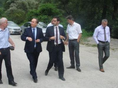 Predstavnici EP BiH posjetili lokalitet HE Vranduk